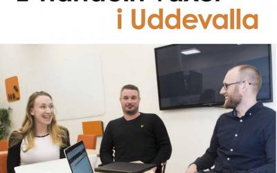 Sharespine startar regionkontor i Uddevalla