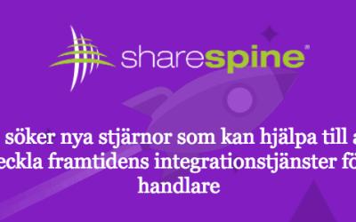 Sharespine söker fler utvecklare och integrationstekniker