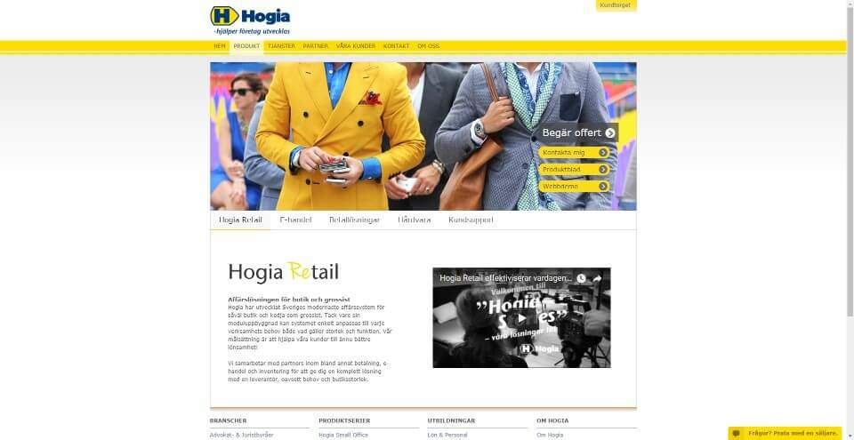 Smidig Hogia Retail integration