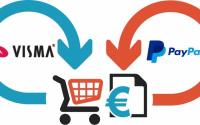 Avstämningsintegration för Visma Administration och PayPal