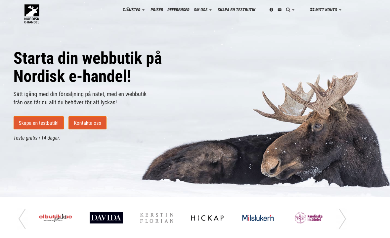 Smidig Nordisk E-handel integration
