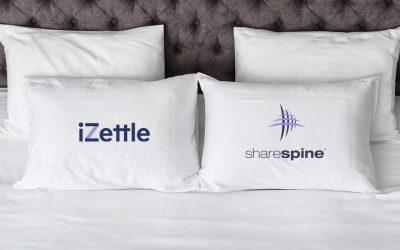 Sharespine bäddar in sin teknik i iZettles plattform