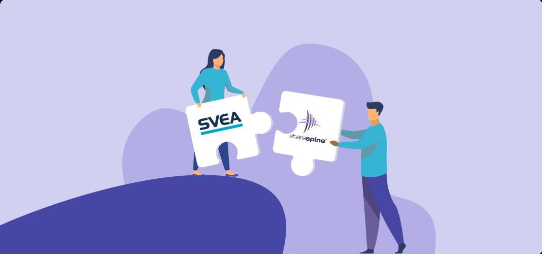 Sharespine lanserar integration till Svea Checkout